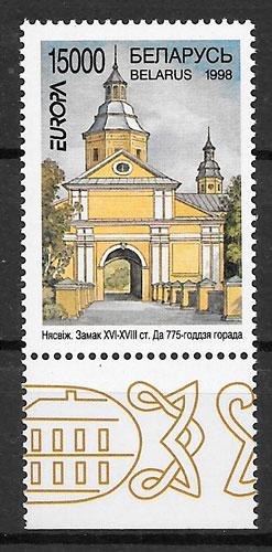 sellos Europa Bielorrusia 1998
