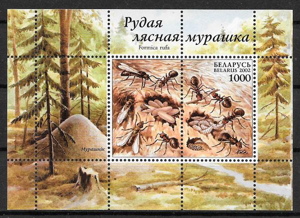 sellos fauna Bielorrusia 2002
