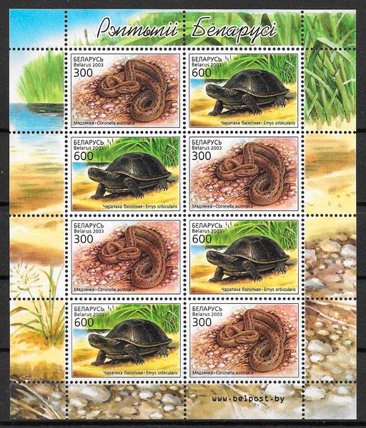 colección sellos Bielorrusia 2003