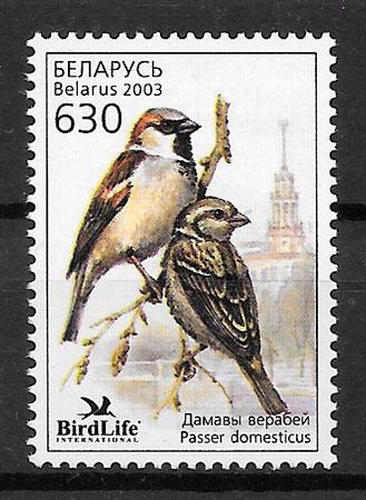 selos fauna Bielorrusia 2003