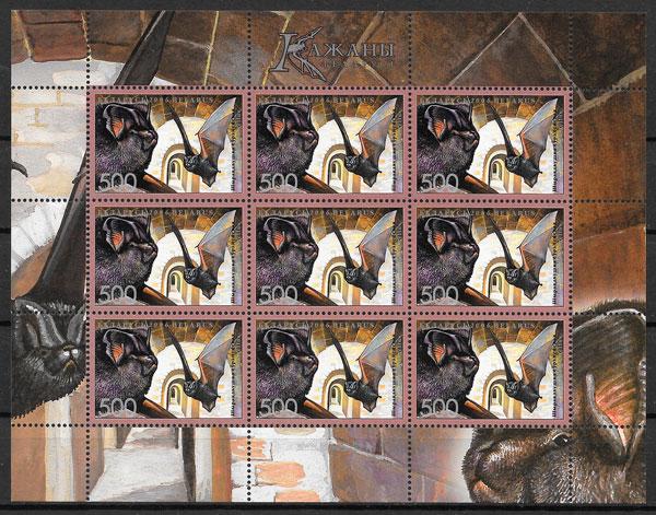 filatelia colección Bielorrusia 2006