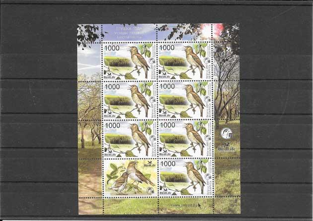 Colección sellos fauna - protección de la naturaleza