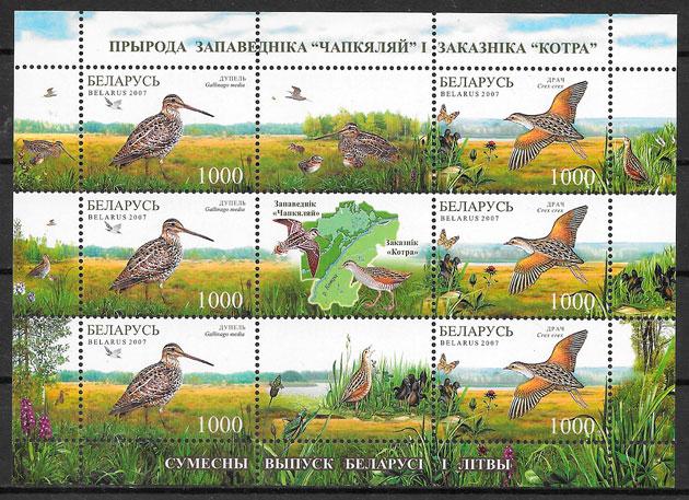 sellos fauna Bielorrusia 2007