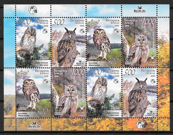 sellos fauna Bielorrusia 2008