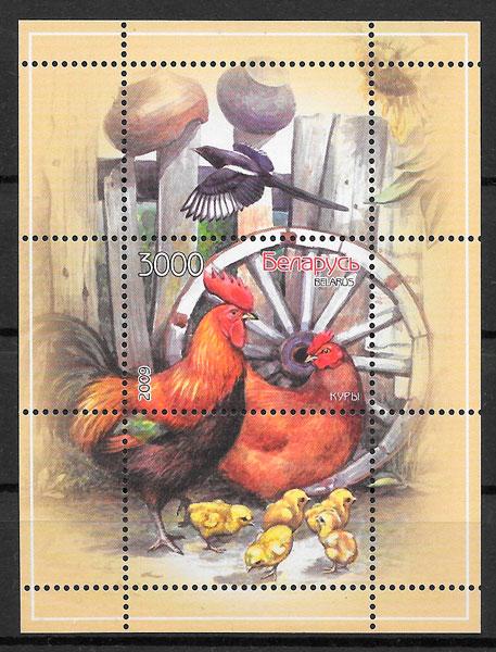 sellos fauna Bielorrusia 2009