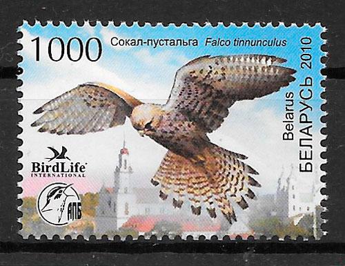 filatelia fauna Bielorrusia 2010