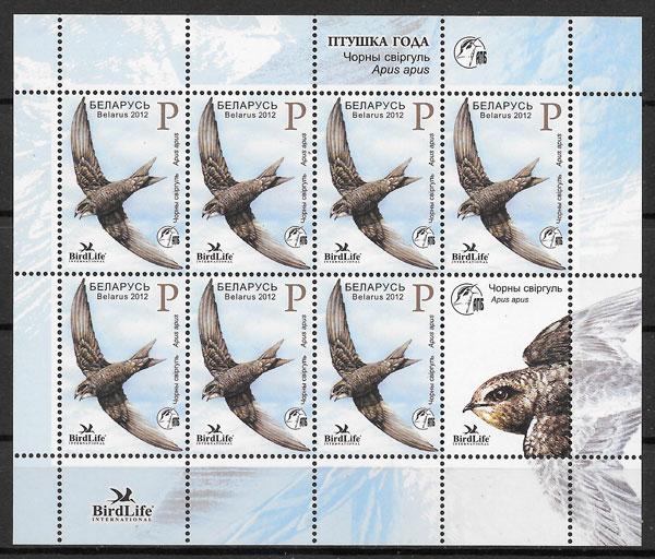 sellos fauna Bielorrusia 2012