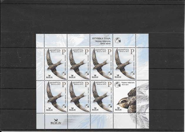Filatelia sellos aves en peligro de extinción