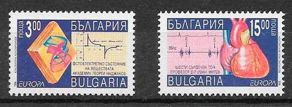 filatelia tema Europa Bulgaria 1994
