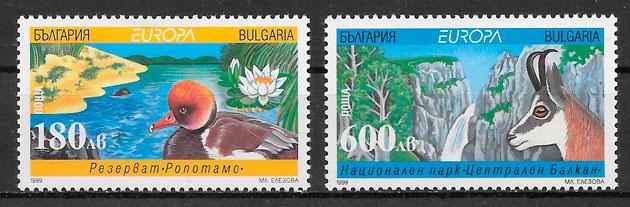 selos Europa Bulgaria 1999