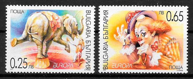 sellos Europa Bulgaria 2002