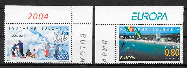 filatelia colección Europa Bulgaria 2004
