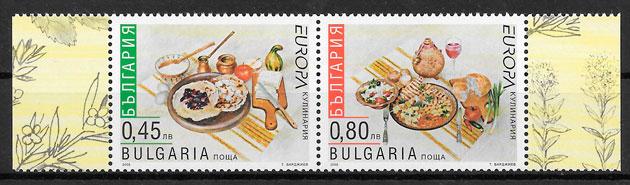 sellos Europa Bulgaria 2005