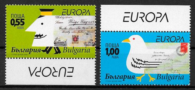 filatelia Europa Bulgaria 2008
