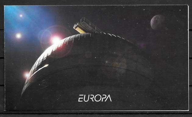 filatelia tema Europa Bulgaria 2009