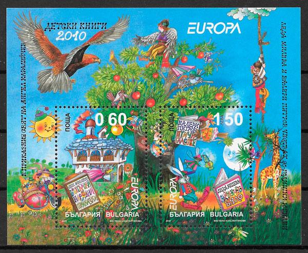 sellos Europa Bulgaria 2010