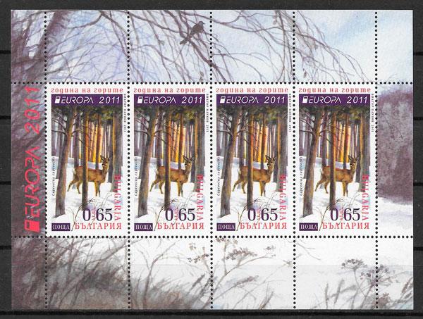 sellos Europa Bulgaria 2011