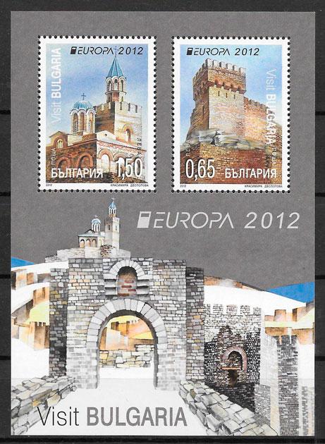 filatelia Europa 2012 Bulgaria