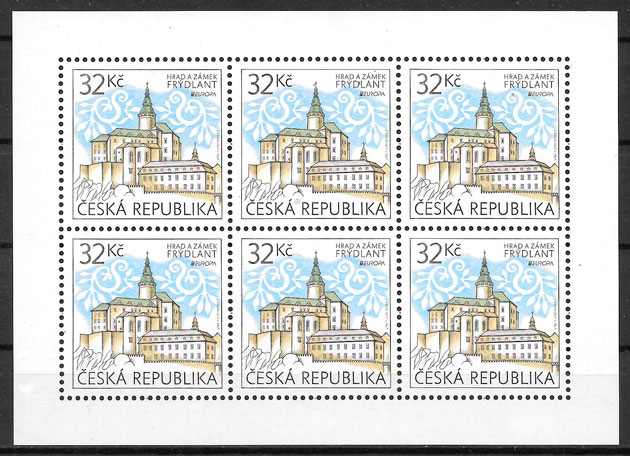 sellos Europa Chequia 2017