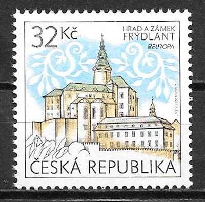 sellos tema europa Chequia 2017
