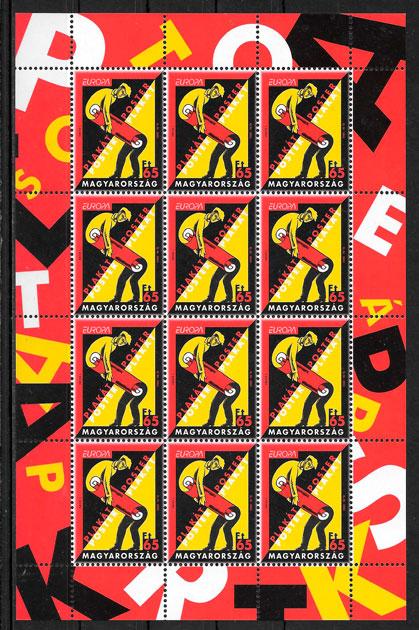 sellos Europa Hungría 2003