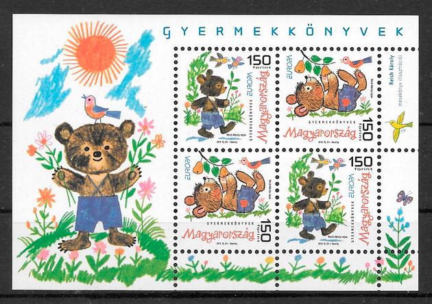 sellos Europa Hungría 2010