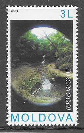 sellos colección Tema Europa 2001
