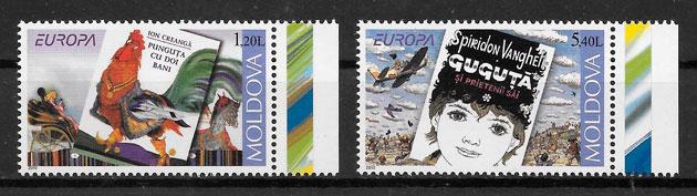 filatelia colección Europa moldavia 2010