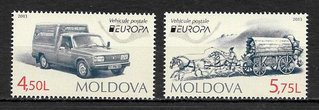 colección sellos Europa Moldavia 2013