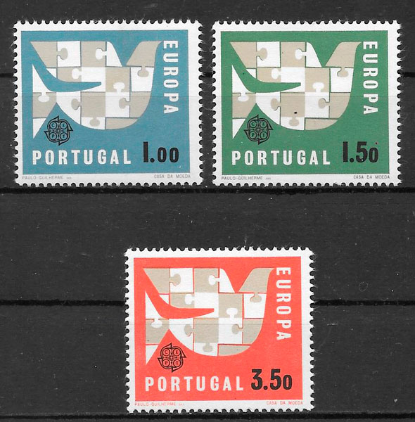 Filatelia Europa Portugal 1963