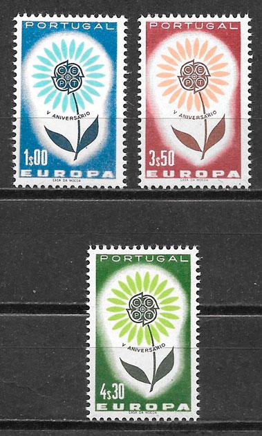 Filatelia Europa Portugal 1964