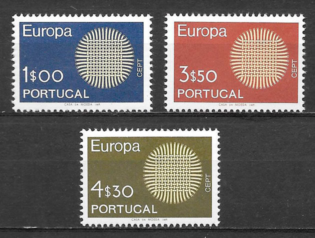filatelia Europa Portugal 1969