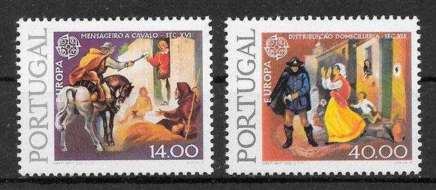 sellos Europa Portugal 1979