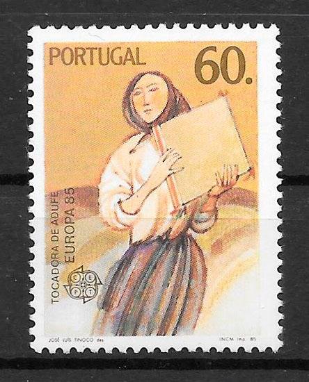 filatelia colección Europa Portugal 1985