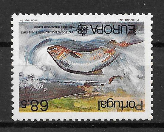 filatelia colección Europa Portugal 1986