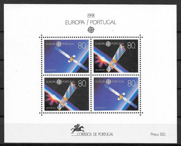 colección sellos Europa 1991