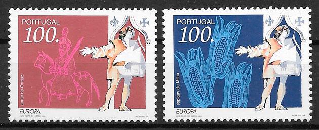 filatelia Europa Portugal 1994