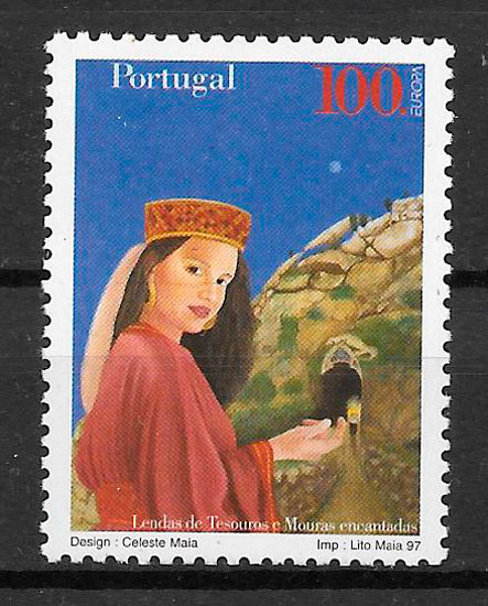 filatelia colección Europa Portugal 1997