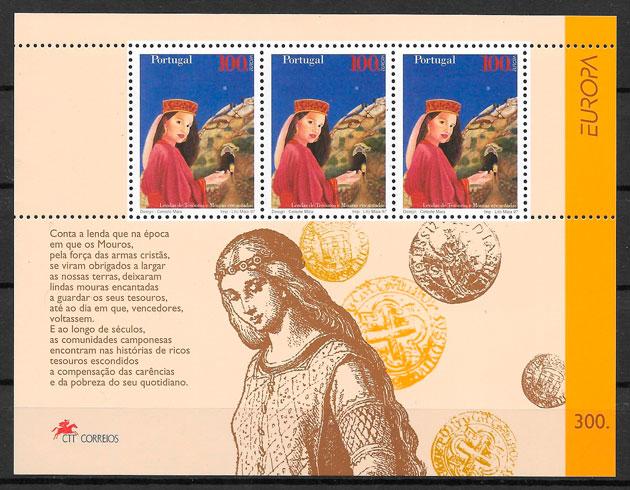 colección sellos Europa Portugal 1997