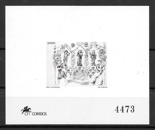 colección sellos Europa 1998