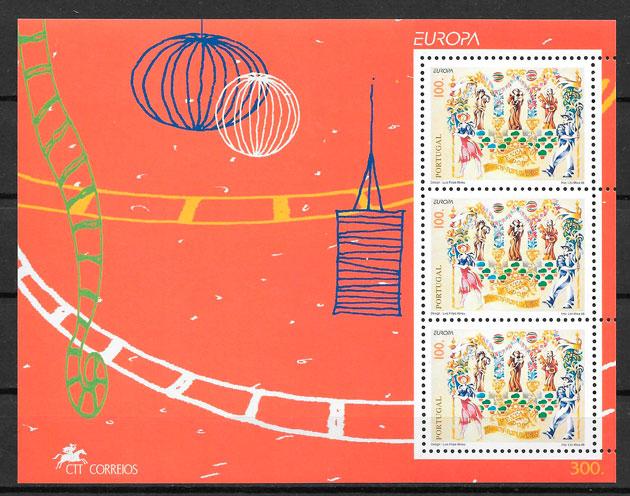 colección sellos Europa Portugal 1998