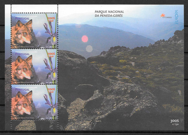 sellos Europa Portugal 1999