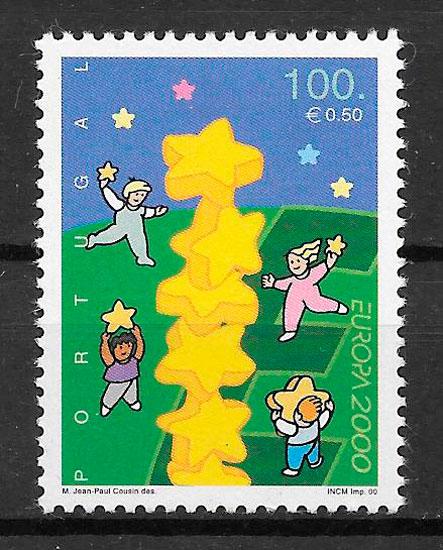 colección sellos Europa 2000