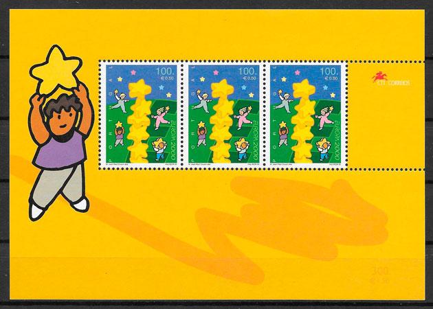sellos Europa Portugal 2000