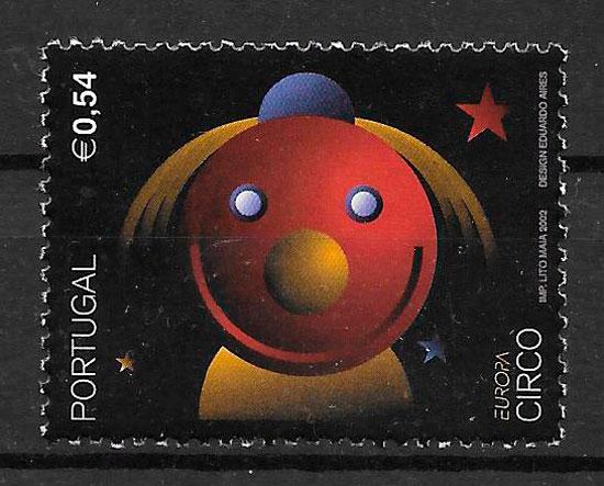 sellos Europa Portugal 2002