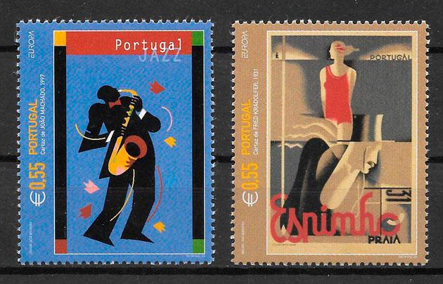 sellos Europa Portugal 2003