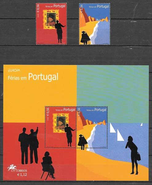 sellos Tema Europa 2004 Portugal