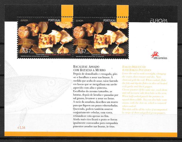 filatelia colección Europa 2005 Portugal