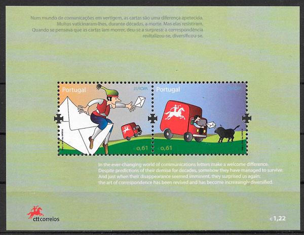 filatelia Europa Portugal 2008