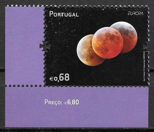 sellos Europa Portugal 2009